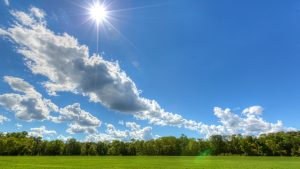 Sky-The-Sun-Is-Shining-Image-Hd