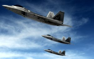 Airplane-Raptors-Stealth-Fighter-Background