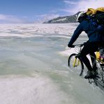 Bicycle-At-Ice-Wallpaper