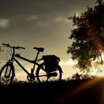 Bicycle-At-Sunset-Picture-For-Windows