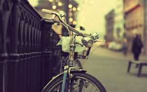 Bicycle-Metal-Fence-Hd-Wallpaper