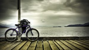 Bicycle-Purple-Wallpaper