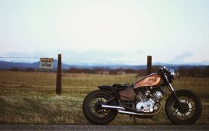 Motorcycle-Bobber-Fence-Wallpaper