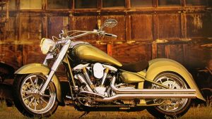 Motorcycle-Gold-Harley-Wallpaper
