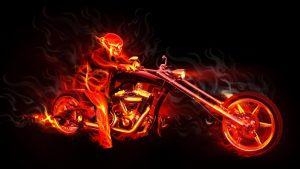 Motorcycle-Skull-Flames-Wallpaper