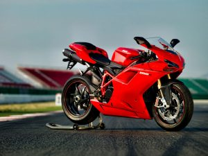 Red-Ducati-Motorcycle-Picture