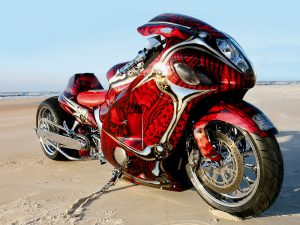 Red-Hayabusa-Motorcycle-Costume-Wallpaper