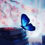 blue-3840x2160-butterfly-books-fantasy-4k-341