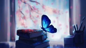 blue-3840x2160-butterfly-books-fantasy-4k-341
