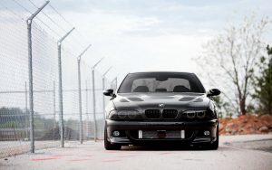 ---bmw-m-supercharged-e-car-fence-parking-13827