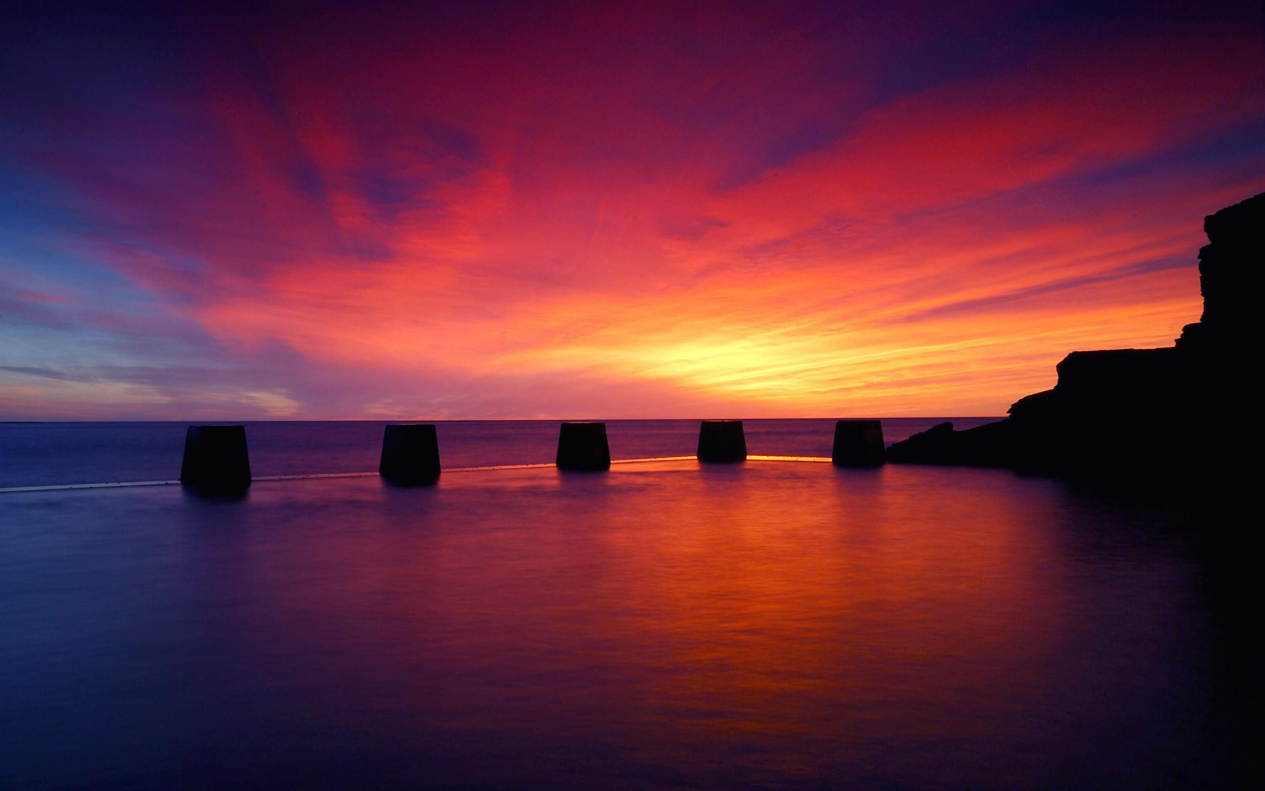 Ocean Sunset Wallpapers 5039