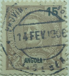angola-stamp-15-reis-correios-portugal-mouchon-schokoladebraun-chocolate-brun-1898-1901