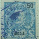 ngola-stamp-50-reis-correios-portugal-mouchon-blau-blue