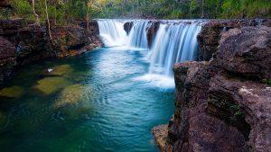 Elliott Falls, Cape York, QLD, Australia