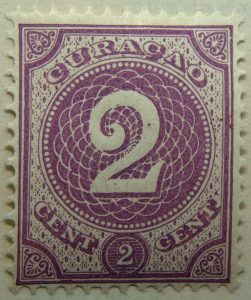 1889 1891 numeral stamp 2c purple curacao