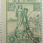 1900 the 400th anniversary of the discovery of brazil 15 de novembro 1889 correio 700 reis 1500 green stamp