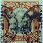 1906 president afonso pena, 1847 1909 brazil correio official 200 reis stamp