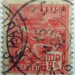 1920 economy culture brazil correio 100 rs reis red