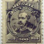 300 correio reis brazil floriano peixoto stamp 1906