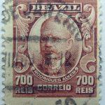 700 correio reis brazil francisco de paula rodrigez stamp 1906