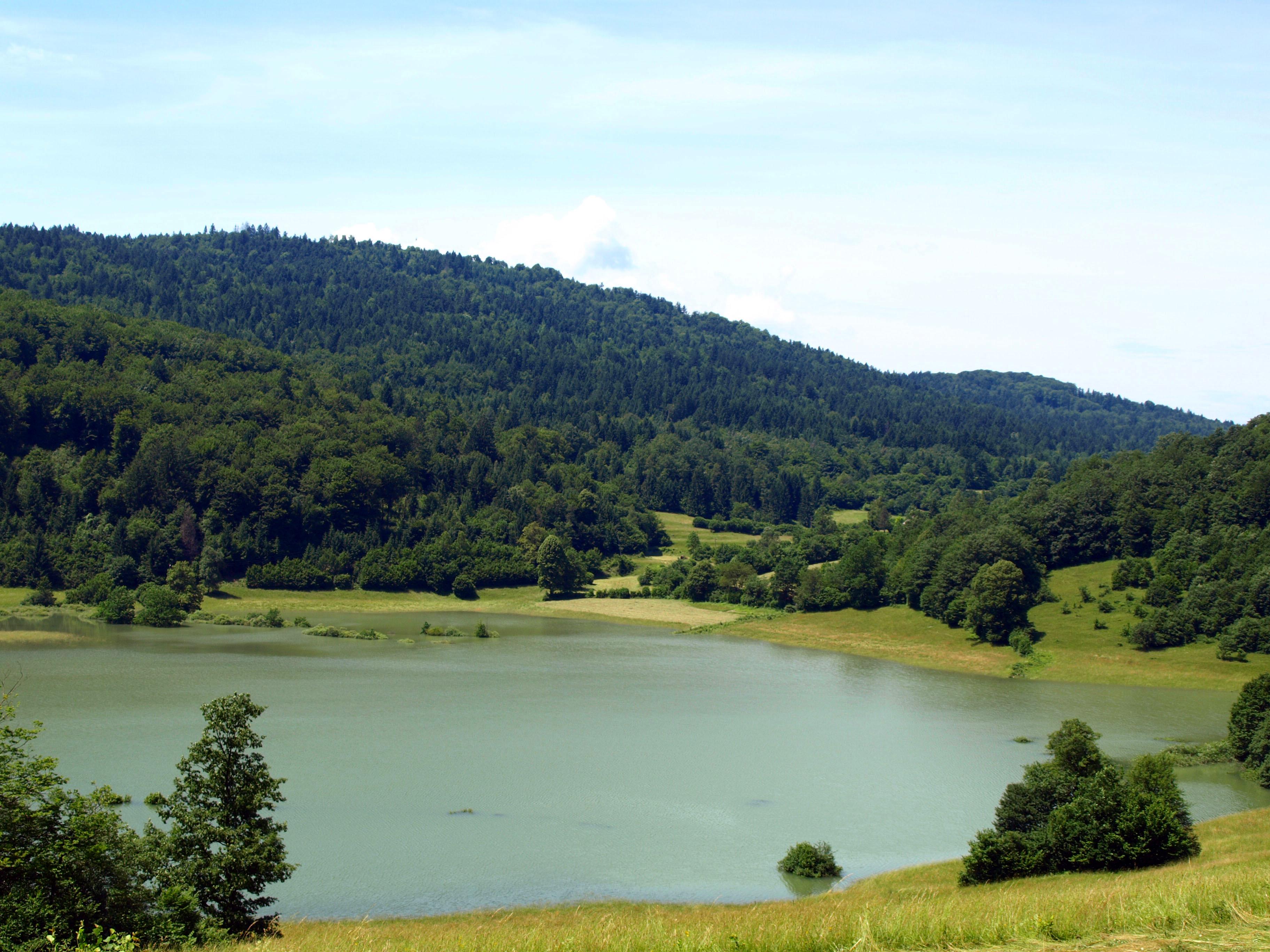 Lake Rakitna Slovenia