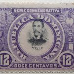 1902 the 400th anniversary of the founding of santo domingo city 1502 serie conmemorativa republica dominicana mella doge centavos 12 violet black stamp