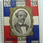 1914 the 100th anniversary of the birth of juan pablo duartes y diez 20 correos veinte centavos 1813 1913 republica dominicana multicolor stamp