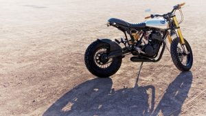 bike at desert motorcycle image hd