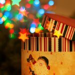 christmas magic box hd wallpaper