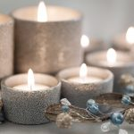 beautiful christmas candles wallpaper 2446