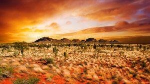 central australia 2560x1600 desert sunset landscape 4k 3650