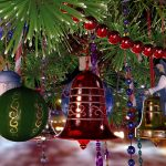 christmas bell background 14048