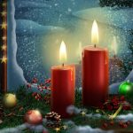 christmas decoration 2560x1440 candle lights 4432