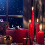 christmas eve 3840x2160 presents gifts candles decoration 4k 4093