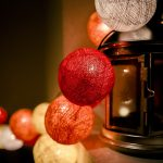 christmas lantern lights wallpaper 7743