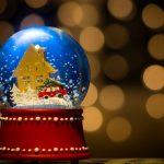 christmas snow globe 14060
