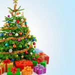 christmas tree 3840x2160 decoration presents gifts 5k 3962