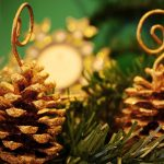 cones ornaments tree christmas new year 7883