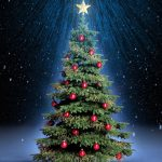 free christmas tree wallpaper 8982