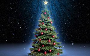 free christmas tree wallpaper 8982