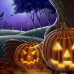 happy halloween pumpkin wallpapers 9532