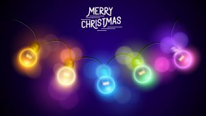 merry christmas 2560x1600 colorful lights hd 4425