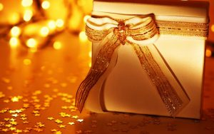 new year christmas gift bow 10830