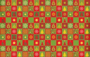 new year stars christmas tree snowflakes 10844