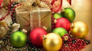 pretty christmas ornaments wallpaper 11346