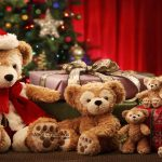 teddy bears christmas 12413