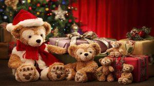 teddy bears christmas 12413