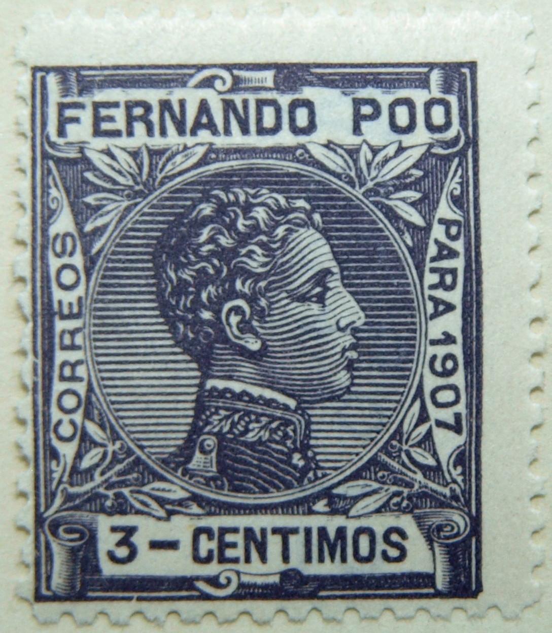 Fernando Poo stamps